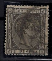 P133274/ SPAIN – ALFONSO XII – EDIFIL # 169 USED – CV 135 $