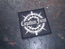 Carpathian Forest Patch Black Metal