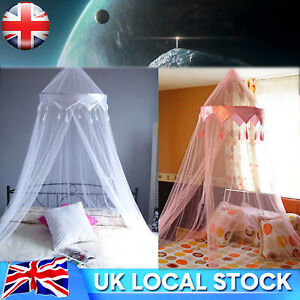 Mosquito Net Canopy Fly Insect Protect Single Entry for Double King Bed UK STOCK