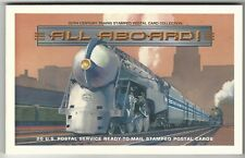 Usa: Lot of 20 different postal thematic transportation trains. US460