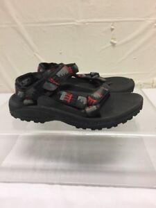 Teva Black Active Sandals Kids Sz 1