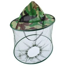 Outdoor Mosquito Resistance Bug Insect Bee Net Mesh Head Face tector-Cap·Hats