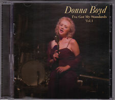 Donna Boyd - I've Got My Standards Vol 1 - CD (DB20051 Australia)