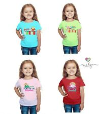 T-Shirt Shirt große Schwester mit Namen Einhorn Eule Pferd Mädchen Wunschname