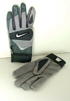 NIKE Gray COLLEGE 05 Speedtack IV Football RECEIVER Gloves Mens size XXL NEW