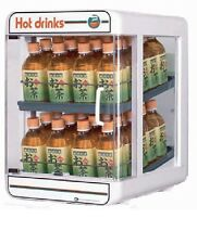 Electric plastic pet bottle warmer display case 2tiers type2 made in Japan