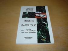 LAND ROVER DEFENDER (94-98) 90 110 NINETY 300 TDI Handbook Owners Manual Book