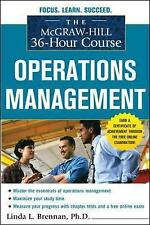 The McGraw-Hill 36-Hour Course: Operations Management (McGraw-Hill 36-Hour Cours