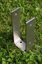 U-Pfostenträger 71mm U-Form in Edelstahl, Pfostenanker