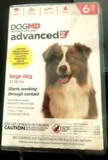 Dog Md Advanced 2 Maximum Flea Defense For Large Dogs 21 To 55 Lbs 6 Pack