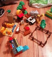 LEGO DUPLO 5634 FEEDING TIME AT THE ZOO LOVELY CONDITION RARE GIRAFFE LION CROC