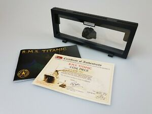 Genuine/Original RMS 'Titanic - Legacy Collection' Coal