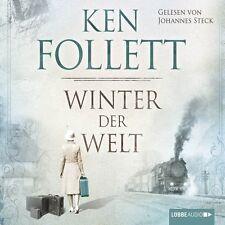 "KEN FOLLETT ""WINTER DER WELT- DIE JAHRHUNDERT SAGA""  12 CD HÖRBUCH NEU"