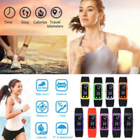 2018 Run Step Watch Bracelet Pedometer Calorie Counter Digital Walking Distanc P