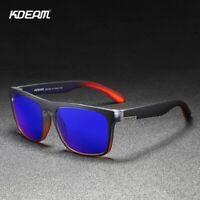 Occhiali da Sole Polarizzati, Kdeam KD156 C15, Protezione UV 400, uomo e donne.