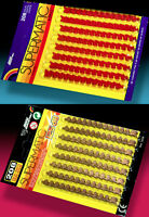 2 EDISON GIOCATTOLI SUPERMATIC AMORCES 80s BIG DISPLAY PACK je 208 SCHUSS COLPI