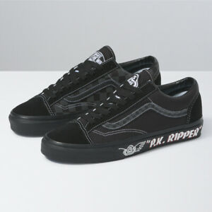 VANS X SE BIKES Style 36 Skate Shoes Sneakers Black/White VN0A54F64YT US 4-12