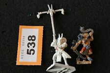 Games Workshop Warhammer Beastmen Gors Command Standard Musician Metal Figures