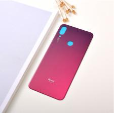 Vitre Arriere Xiaomi Redmi Note 7 - Rouge / Violet + Adhesif