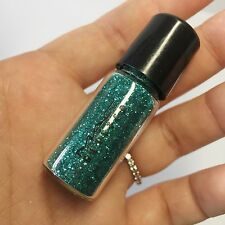 RARE MAC Glitter *TURQUOISE* 2.5g Vial Charm AUTHENTIC Limited Edition NEW