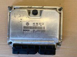 2007 VW Polo 1.4 SE TDi Engine ECU Ignition Lock Set Kit