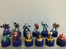F/S PEPSI bottle cap FIGURE GUNDAM zaku japan anime a set of 12