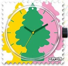 S.T.A.M.P.S stamps Uhr Ziffernblatt  Stamps Flavour Deep Forest NEU OVP