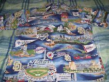 San Diego Padres Reyn Spooner MLB Baseball Hawaiian Aloha Shirt size. S