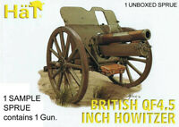 HaT 8243 WWI British QF4.5 inch Howitzer Gun 1/72 Model Kit - 1 SPRUE - 1 Gun