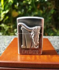 ZIPPO, MARLBORO BIG M, LONGHORN LIGHTER ((VERY RARE))