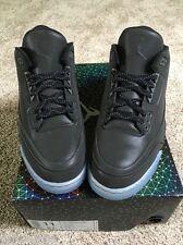 2014 Mens Nike Air Jordan 5Lab3 Retro 3 SZ 8.5 Black Reflective 3M 631603-010