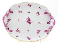 Vintage Herend Pink Eton Serving Platter with Handles