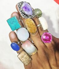 Sterling Silver Overlay Ring Wholesale Antique Handmade 100 PCS LOT #2