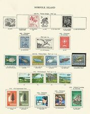 NORFOLK ISLAND FROM 196I SUPERB MIXED MOUNTED & UNMOUNTED MINT COLLECTION