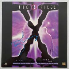 David Duchvony Signed The X Files Pilot & Deepthroat Laserdisc Actor LEGEND RAD