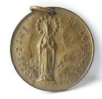 Medal Republic D'Ecuador Ecuador nd Lourdes c1920 a J Corbierre 22mm Medal