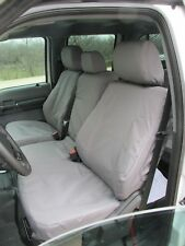 2014 Ford F150-F550, 2014-2015 F250-F550, XLT & Lariat, Car Seat Covers in Gray