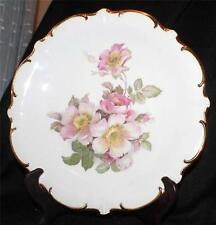 "Vintage SCHUMANN ARZBERG Bavaria Germany WILD ROSE 12""d Serving Plate/Chop Plate"