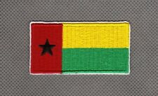 Flag Guinea-Bissau Bandera de Guinea-Bissa Parche bordado Thermo-Adhesivo patch