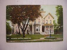 VINTAGE POSTCARD VIEW OF MAYWOOD HOSPITAL IN SEDALIA MISSOURI 1909