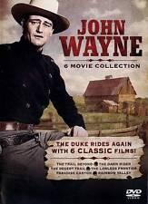 John Wayne: 6 Movie Collection DVD -  BRAND NEW SEALED