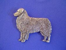 Australian Shepherd Pin Pewter Herding Dog Jewelry by Cindy A. Conter Aussie 42A