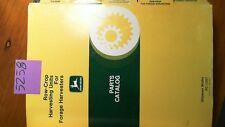 John Deere Row-Crop Harvesting Units for Forage Harvesters Parts Catalog Manual