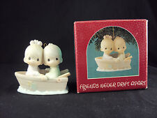 Precious Moments 522937, Friends Never Drift Apart, Issued 1988, Free Shipping