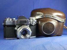 CONTAFLEX ZEISS IKON SUPER 1959, SYNCRO-COMPUR TESSAR 2.8/50mm GERMANY RARISSIMA
