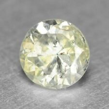 0.17 Carat NATURAL DIAMOND Sparkly Yellowish WHITE LOOSE for Setting