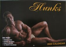 2020 Paperback Wall Calendar - Hunks