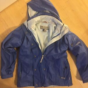 Columbia M Core Interchange BEAUTIFUL Waterproof Breathable Hood Warm Fleece