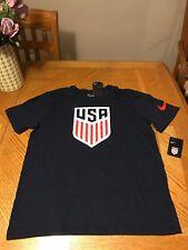 Nike USA Basketball Blue Shirt Dream Team T-shirt Micheal Jordan Jersey Large
