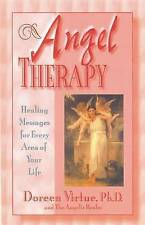 NEW Angel Therapy by Doreen Virtue BOOK (Paperback)